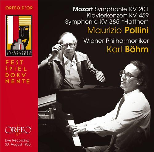 "Mozart: Symphonie; Klavierkonzert; Symphony ""Haffner"""