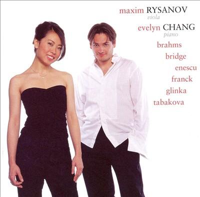 Rysanov plays Brahms, Bridge, Enescu, etc.