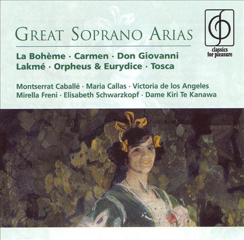 Great Sopranos Arias