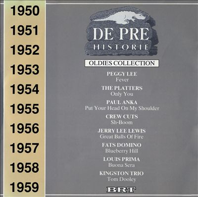 De Pre Historie 1950-1959