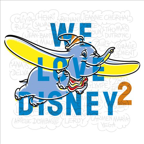 We Love Disney 2 [French Edition]