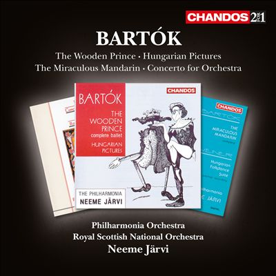 Bartók: The Wooden Prince; Hungarian Pictures; The Miraculous Mandarin; Concerto for Orchestra