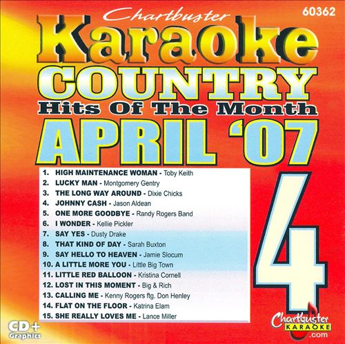 Karaoke: Country Hits of April 2007