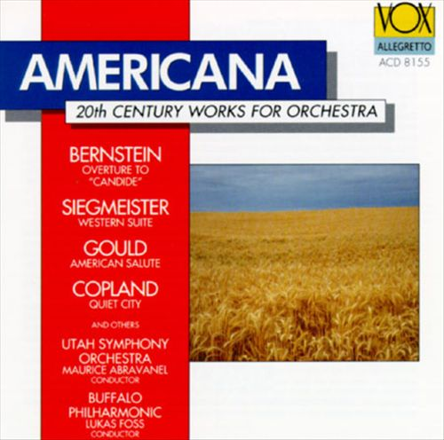Americana: 20th Century Works for Orchestra