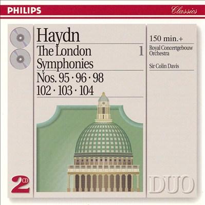 Haydn: The London Symphonies, Vol. 1