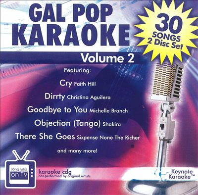 Gal Pop Karaoke, Vol. 2