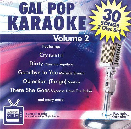 Gal Pop Karaoke, Vol. 2