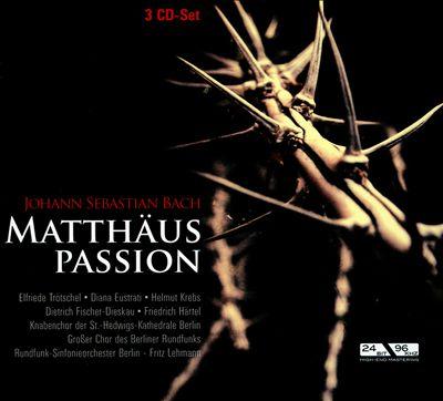 Bach: Matthäuspassion