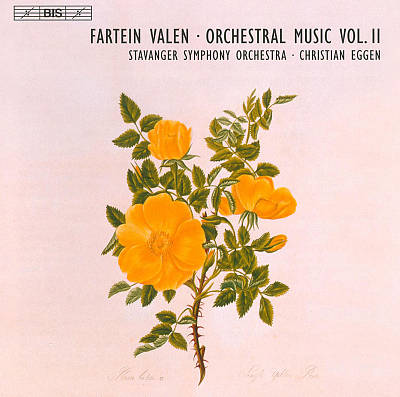 Fartein Valen: Orchestral Music, Vol. 2