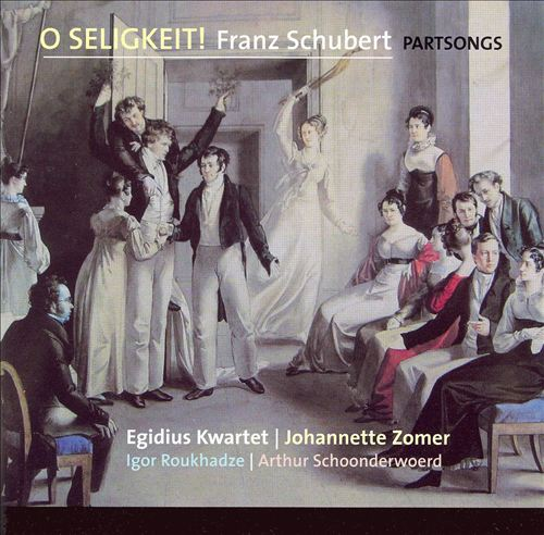 O Seligkeit!: Franz Schubert Partsongs