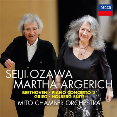 Beethoven: Piano Concerto No. 2; Grieg: Holberg Suite