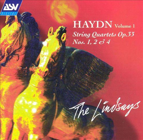 Haydn: String Quartets Op. 33 Nos. 1, 2 & 4