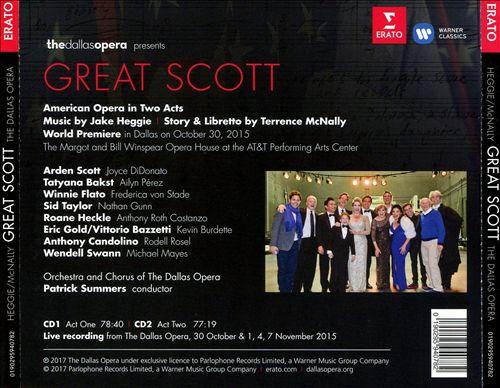 Jake Heggie & Terrence McNally's Great Scott