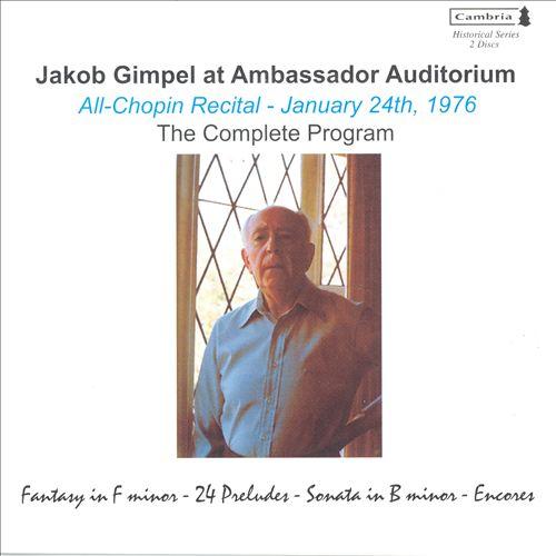 Ambassador Concert - Chopin
