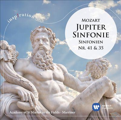 Mozart: Jupiter Sinfonie; Sinfonien Nr. 41 & 35