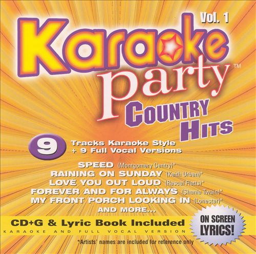 Karaoke Party - Country Hits, Vol. 1