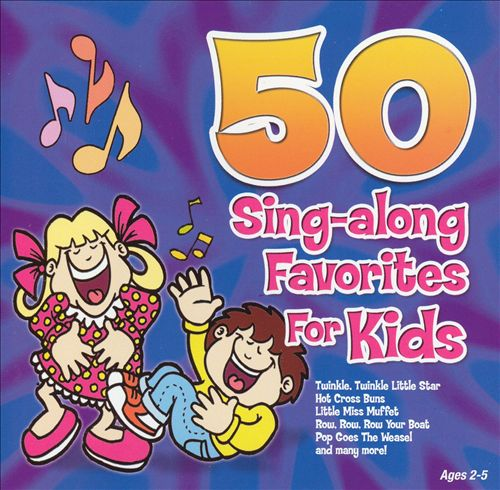 50 Sing-Along Favorites for Kids [Blue]