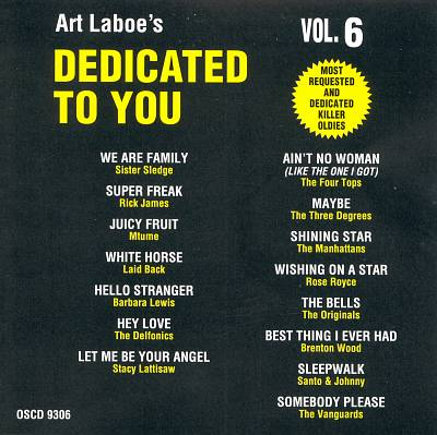 Art Laboe's Dedicated to You, Vol. 6