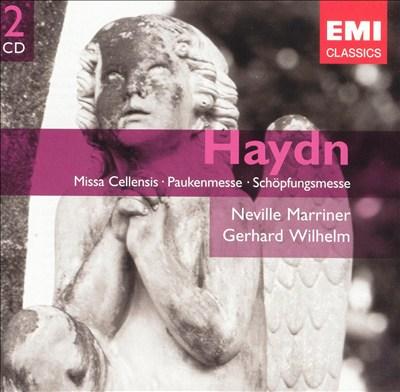 Haydn: Missa Cellensis; Paukenmesse; Schöpfungsmesse