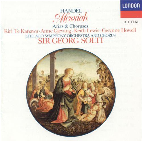 Handel: Messiah (Arias and Choruses)
