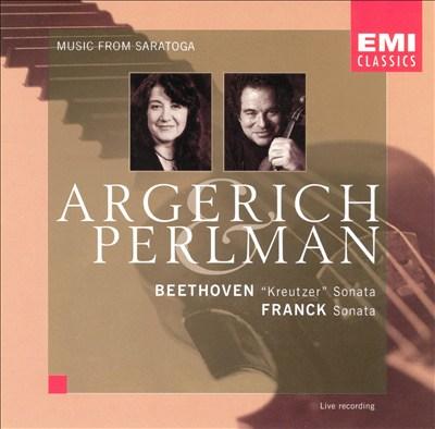 """Beethoven: """"Kreutzer"""" Sonata; Franck: Sonata"""