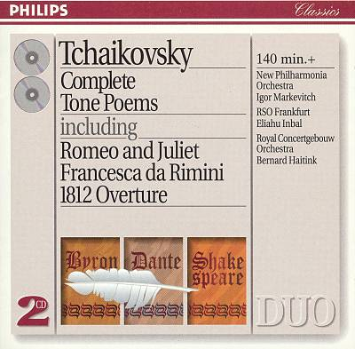 Tchaikovsky: Complete Tone Poems