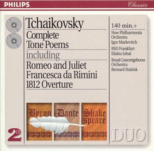 Tchaikovsky: Complete Tone Poems
