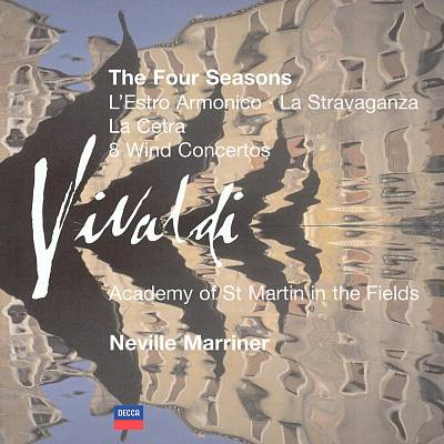 Vivaldi: The Four Seasons; L'Estro Armonico; La Stravaganza; etc.