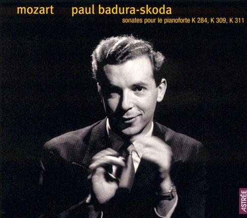 Mozart: Sonates pour le pianoforte, K284, K309, K311
