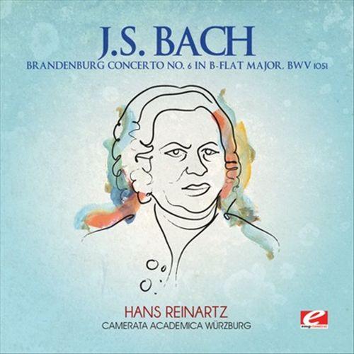 J.S. Bach: Brandenburg Concerto No. 6 in B flat major, BWV 1051