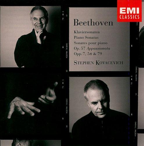 Beethoven: Piano Sonatas Op. 7, 54, 57 & 79