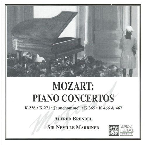 Mozart: Piano Concertos, K238, K271, K365, K466, K467