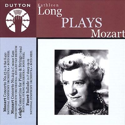 Kathleen Long plays Mozart