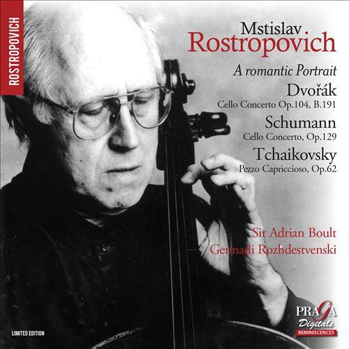 A Romantic Portrait: Dvorá, Schumann, Tchaikovsky