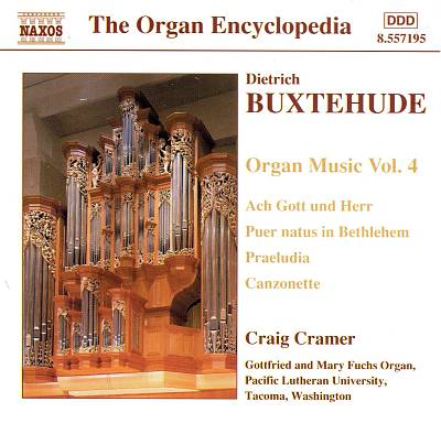 Buxtehude: Organ Music, Vol. 4