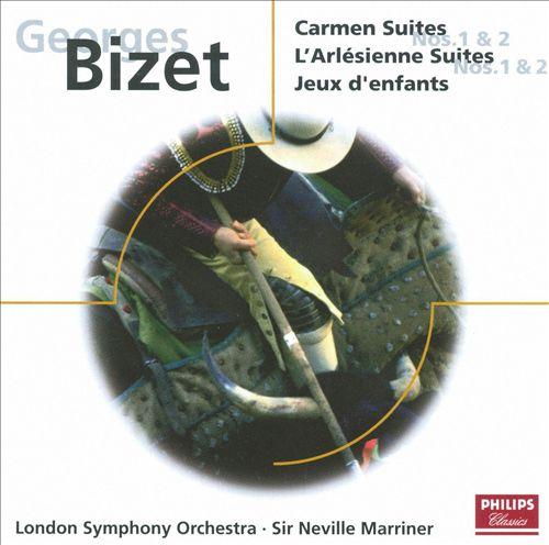 Bizet: Carmen Suites Nos. 1-2; L'Arlésienne Suites Nos. 1 & 2; Jeux d'enfants