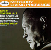 Howard Hanson: Symphony No. 3/Elegy/The Lament for Beowulf