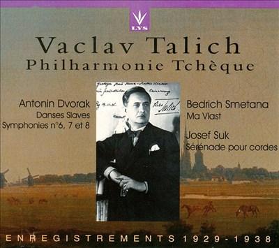 Vaclav Talich dirige Dvorak, Smetana & Suk