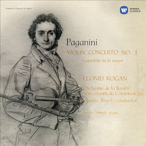 Paganini: Violin Concerto No. 1; Cantabile in D major