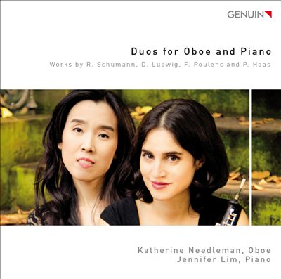 Duos for Oboe and Piano: Works by R. Schumann, D. Ludwig, F. Poulenc and P. Haas