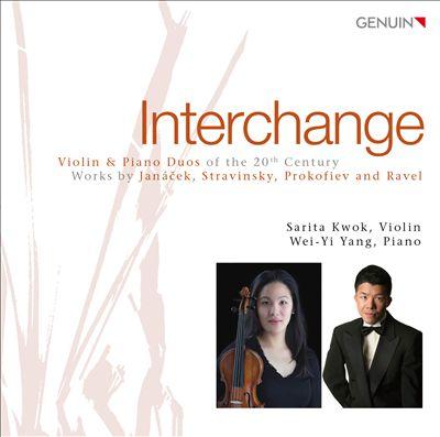Interchange: Violin & Piano Duos of the 20th Century