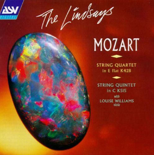 Mozart: String Quartet in E flat, K428; String Quintet in C, K515