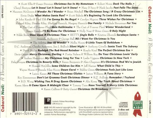 Cabaret Noel: A Broadway Cares Christmas [2-CD Set]