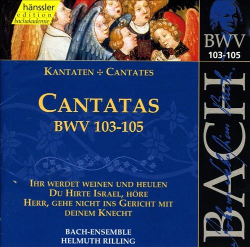 Bach: Cantatas, BWV 103-105