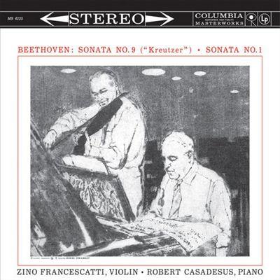 """Beethoven: Sonata No. 9 (""""Kreutzer""""); Sonata No. 1"""