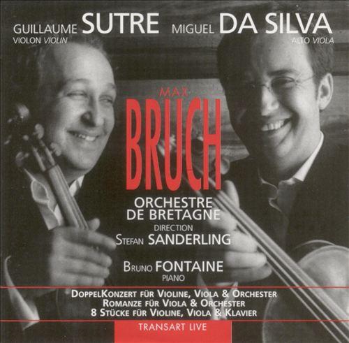 Bruch: DoppelKonzert für Violine & Viola; Romanze; 8 Stücke