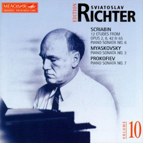 Scriabin/Myaskovsky/Prokofiev: Piano Works