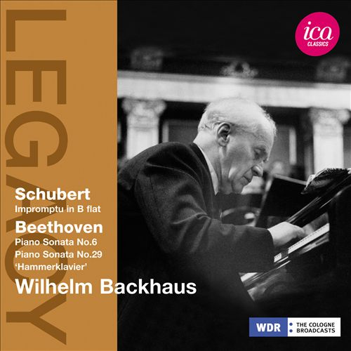 Schubert: Impromptu in B flat; Beethoven: Piano Sonatas Nos. 6 & 29