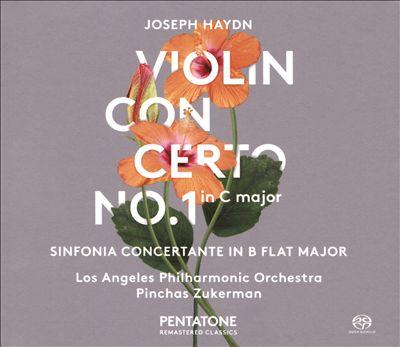 Joseph Haydn: Violin Concerto No. 1 in C major; Sinfonia Concertante in B flat major