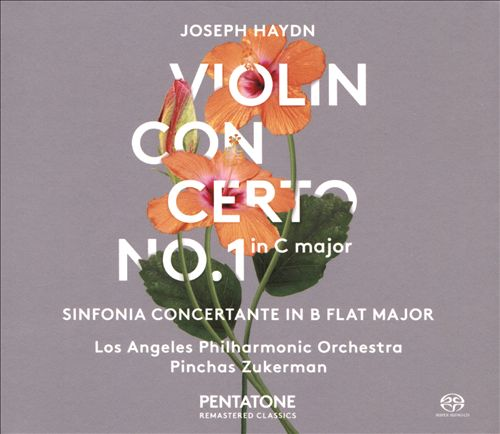 Joseph Haydn: Violin Concerto No. 1 in C major; Sinfonia Concertante in B flat major